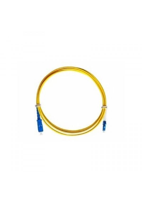 Cordão Óptico Sc/upc-Lc/upc Simplex 3.0mm 2m