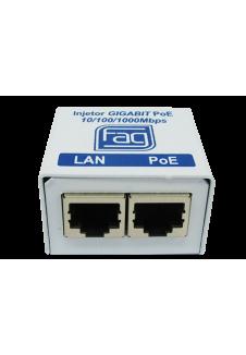 Injetor Gigabit PoE 1 porta
