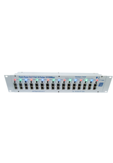 Patch Panel Fast PoE 16 portas