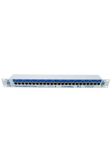 Patch Panel Gigabit PoE 12 portas